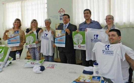 Lançamento do Kit da Caminhada entre Gerações no Lar Betel